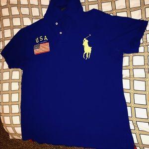 Ralph Lauren Men's USA Polo Shirt